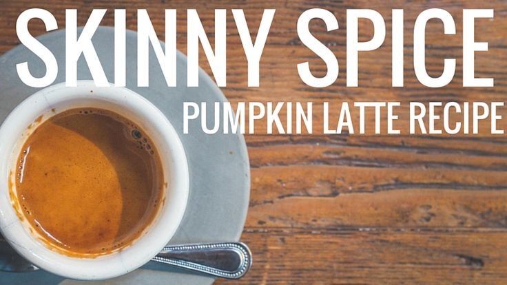 Nutritionist and Bestselling cookbook author Christina Carlyle shares her craveable low fat, low calorie recipe for Skinny Spice Pumpkin Latte drink.
