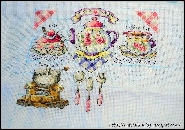 """Hafciarka: SAL - """"TEA TIME"""" - 5/9"""