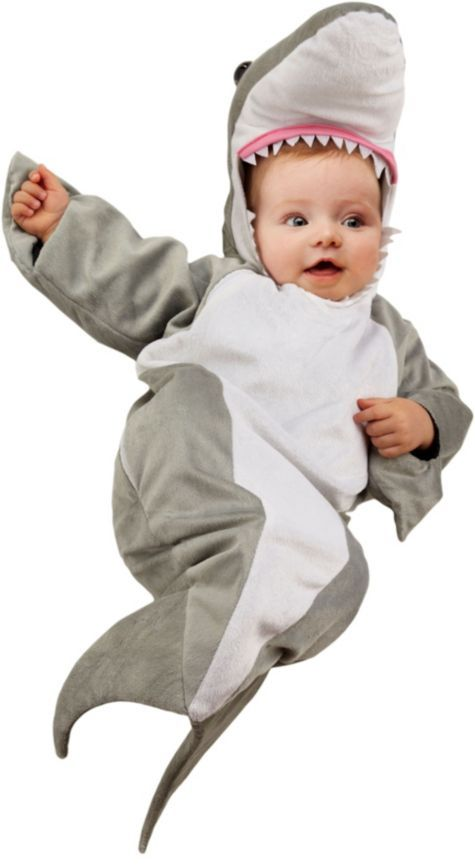 Baby Bunting Great White Shark Costume - Party City