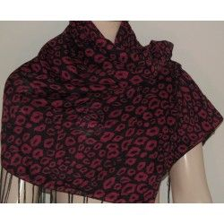 Tally Weijl šátek černo červený univerzální; scarf