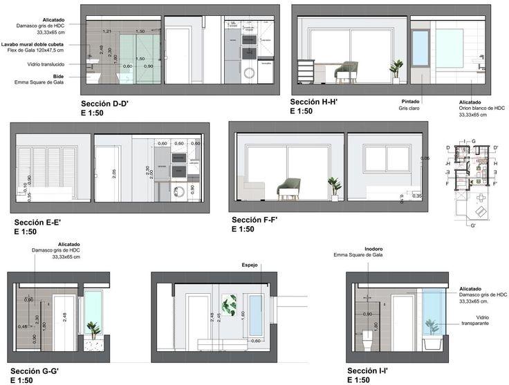 EVM_piloto 3 Royal Sun_planos 04  #arquitectura #architecture #interiorismo #decoración