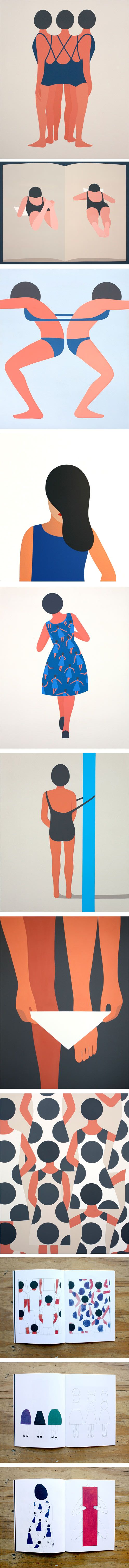 Geoff McFetridge on the LPP blog. All images via the artist.