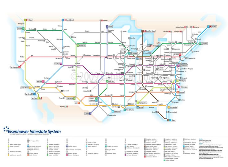 Best Interstate Highway Map Ideas Only On Pinterest Road - Us interstate highway system map