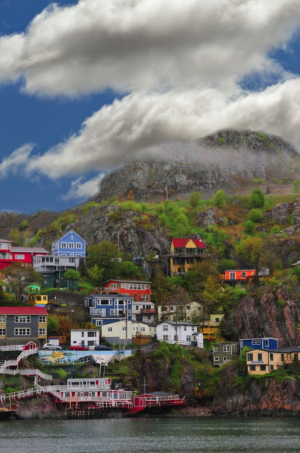 Newfoundland & Labrador, Canada... Dad just went here and I randomly see it pinned the day he gets back. Strange