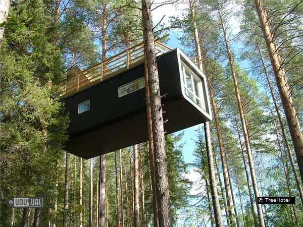 harads, tree hotel, sweden