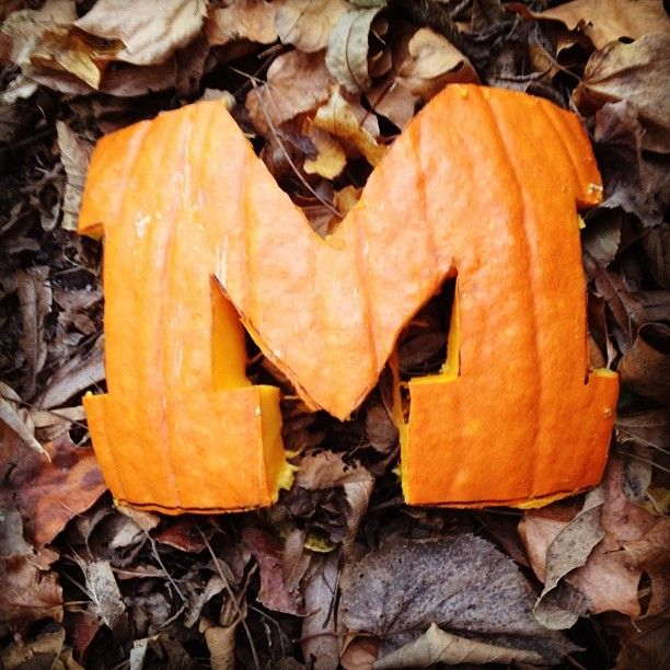 Get into the fall spirit! #MGoFall