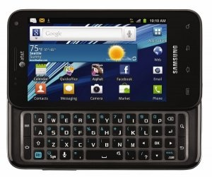 Samsung Captivate Glide Android Phone. When I had my Captivate, I said the only thing that would have made it better would have been having a qwerty keyboard. And now they have it. Love Android!