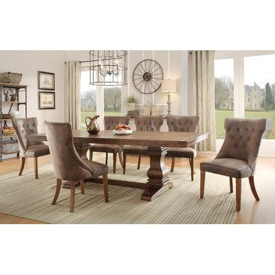 Woodbridge Home Designs Marie Louise Extendable Dining Table