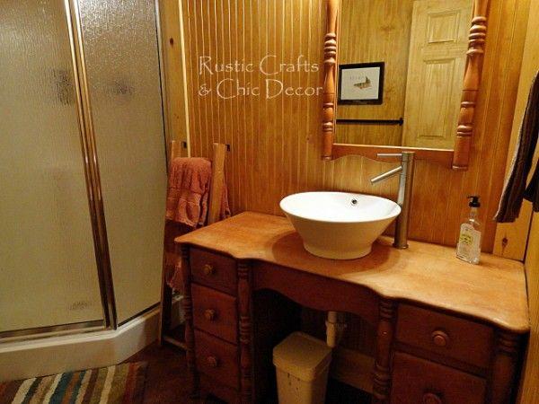Best 25+ Small Cabin Bathroom Ideas On Pinterest   Rustic Bathroom  Makeover, Small Bathroom Ideas And Small Bathroom Designs