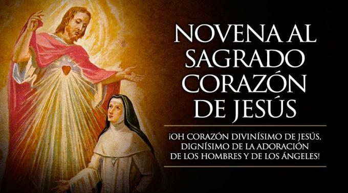 Hoy se inicia la Novena al Sagrado Corazón de Jesús