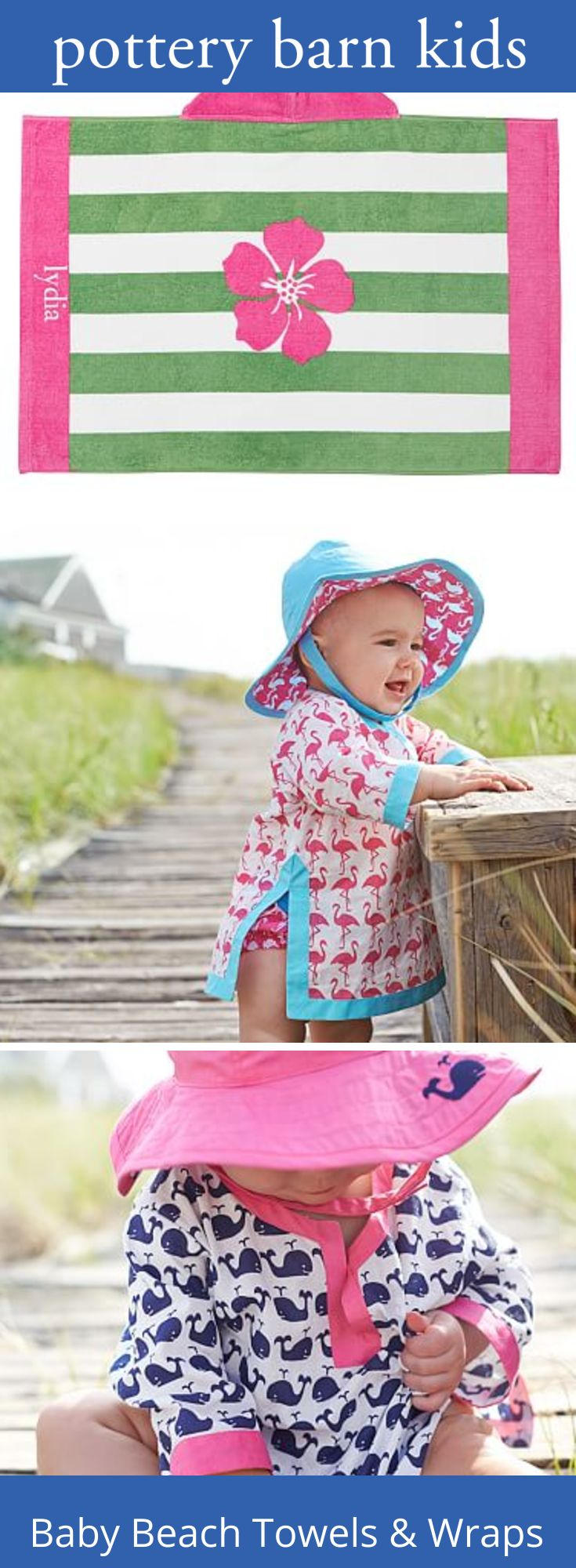Baby Beach Towels & Wraps