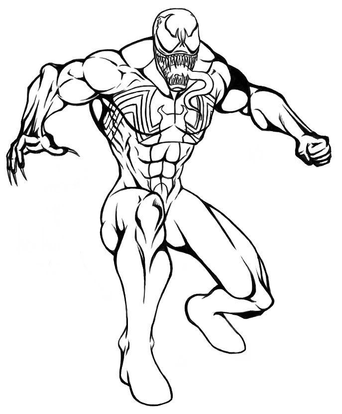 Download Or Print This Amazing Coloring Page Venom Coloring Pages To Print High Quality Coloring In 2020 Spiderman Coloring Superhero Coloring Pages Coloring Pages