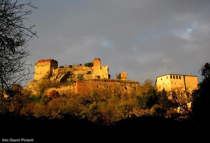 TRAMONTO SULLA FORTEZZA DI CASTROCARO