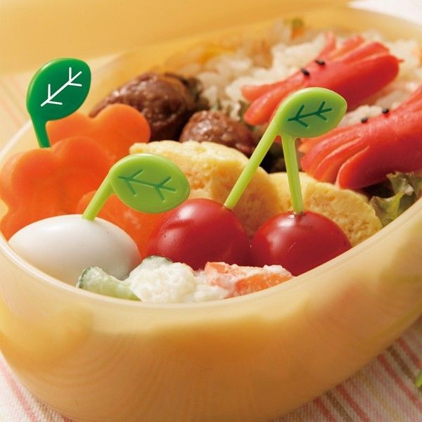 Adorable food picks for lunchbox fun!!