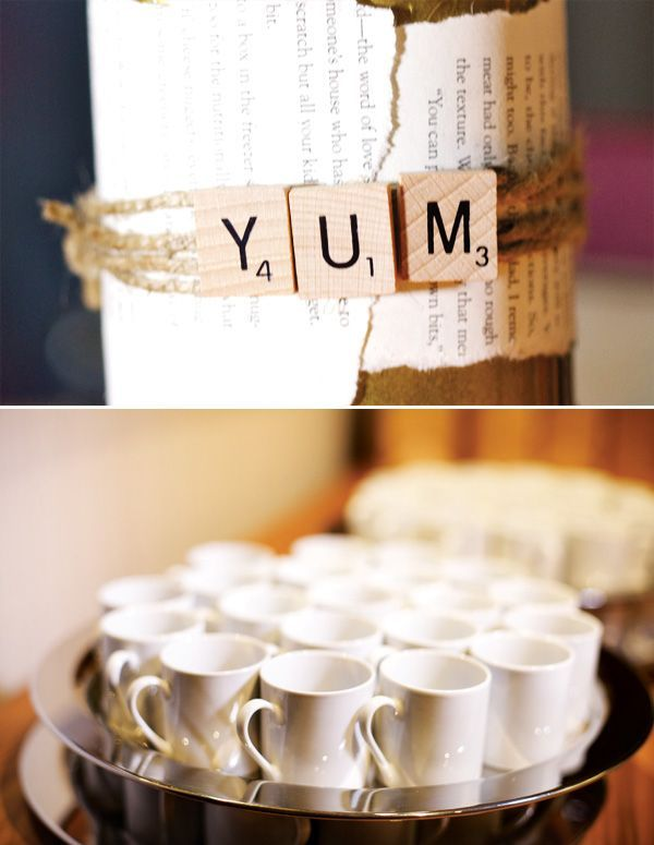 Food & decoration ideas for a book club party