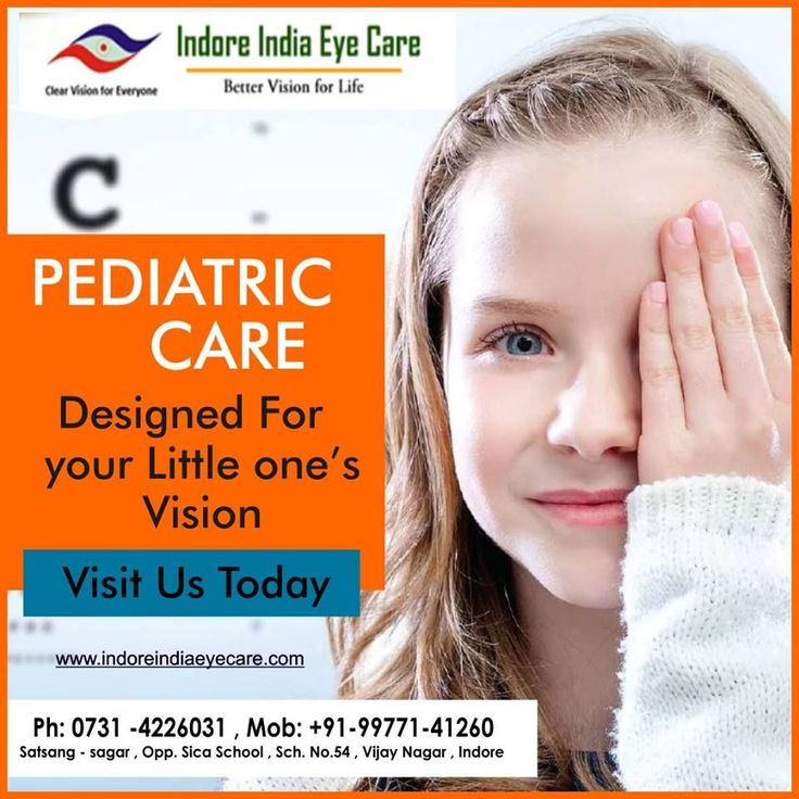 Indore india eye care is the best Pediatric eye care