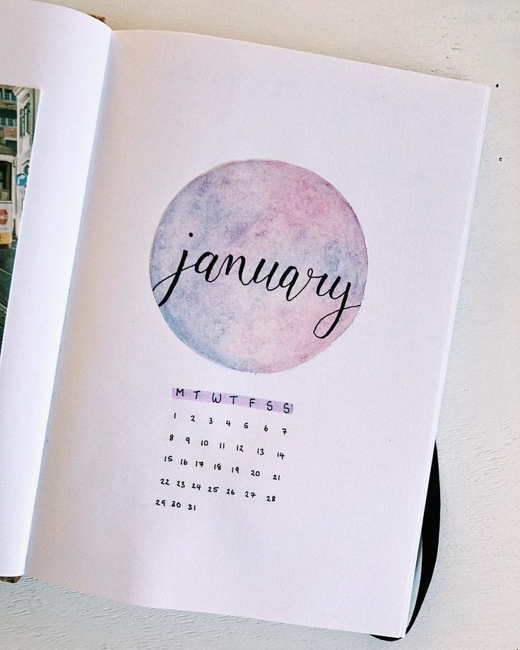 YAY JANUARY HELLO So darn excited for new year, and I LOVE how this cover page turned out!