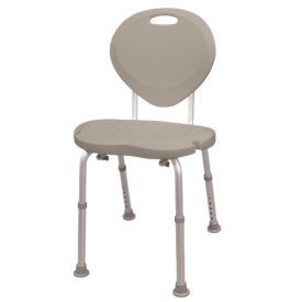 Bath and shower seats from AquaSense provide support to individuals who need to sit down while taking a bath or a shower. These pebble taupe bath chairs have an ergonomic contoured shape, designed to be more comfortable than traditional bath seats. This bath chair features a textured non-slip plastic seat with drainage holes and backrest […]