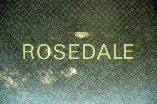 TTC Tiles - Rosedale Station