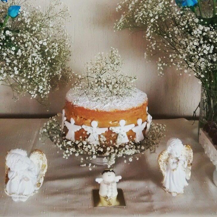 Naked Cake Batizado ou Primeira Comunhão!