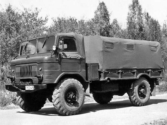 ГАЗ 66Б Опытный (1960)