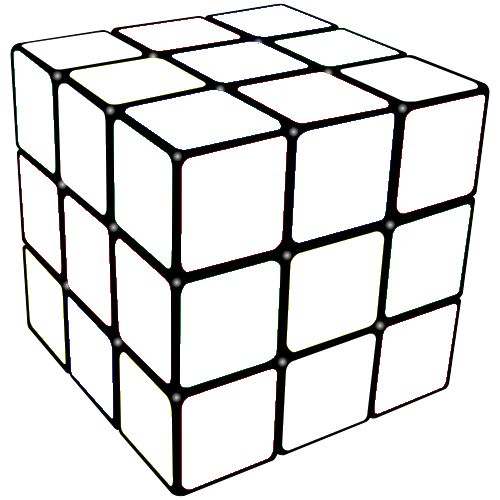 color pages of rubik cube | rubiks cube colouring pages ...