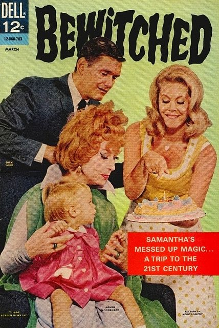 Bewitched was my Favorite TV Show. I loved the magic and twitching of the nose and everything seemed to turn out OK in the end.