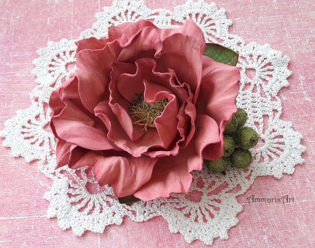 Ammaris Art, Foamiran flower