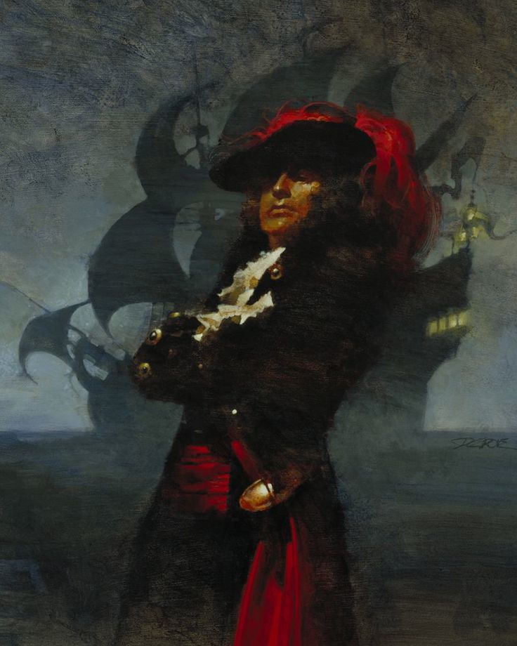 Howard Pyle is the god of pirate illustration