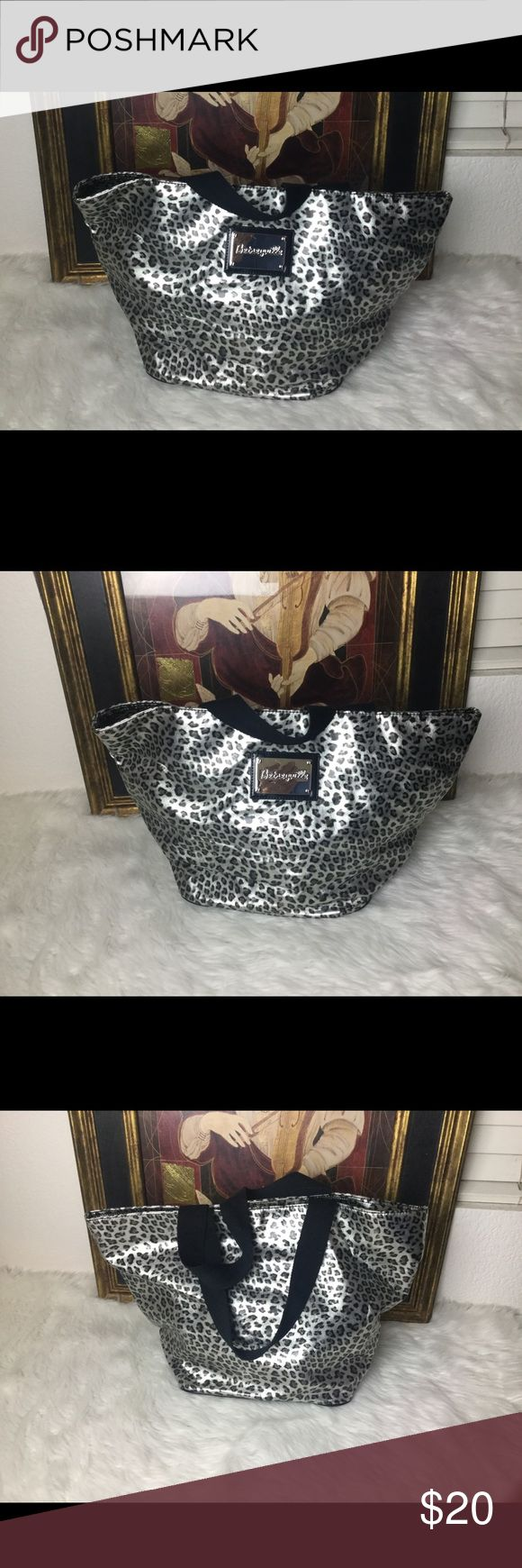 Betseyville Animal Print Tote Bag Betseyville Animal Print Tote Bag. Measures 18x11. In good shape. Betsey Johnson Bags Totes