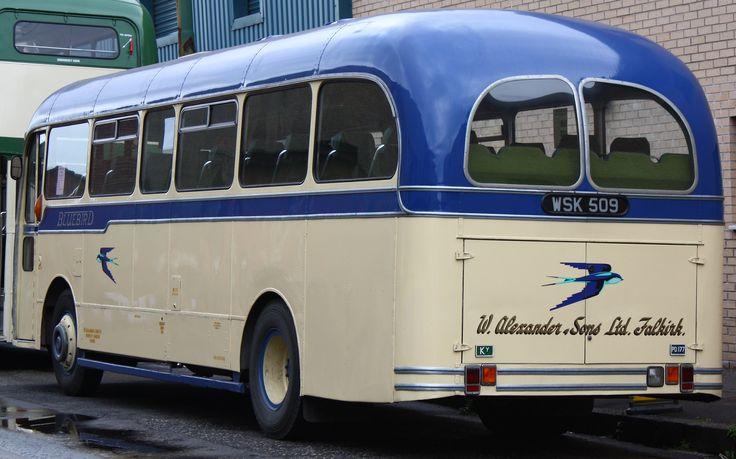 Image from https://upload.wikimedia.org/wikipedia/commons/0/06/Alexander_Fife_(Bluebird)_coach_PD177_(WSK_509),_2009_Glasgow_Vintage_Vehicle_Trust_open_day_(1).jpg.
