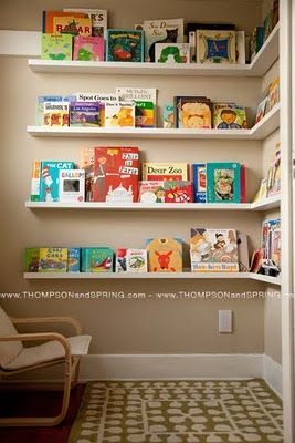 reading corner/playroom or kids' bedroom idea