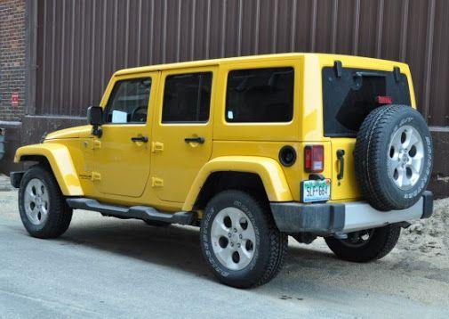 Dress 4 yellow 2018 jeep