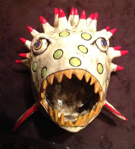 17 best images about creature pot on pinterest ceramics for Clay pot fish