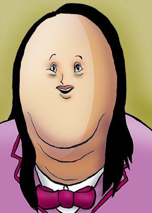 話題の人の似顔絵BLOG: ペルーの大統領に、なれるか?