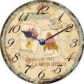 Antiguo reloj de pared.