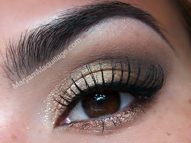 Natural Shimmer Eye Using The Too Faced Natural Eye