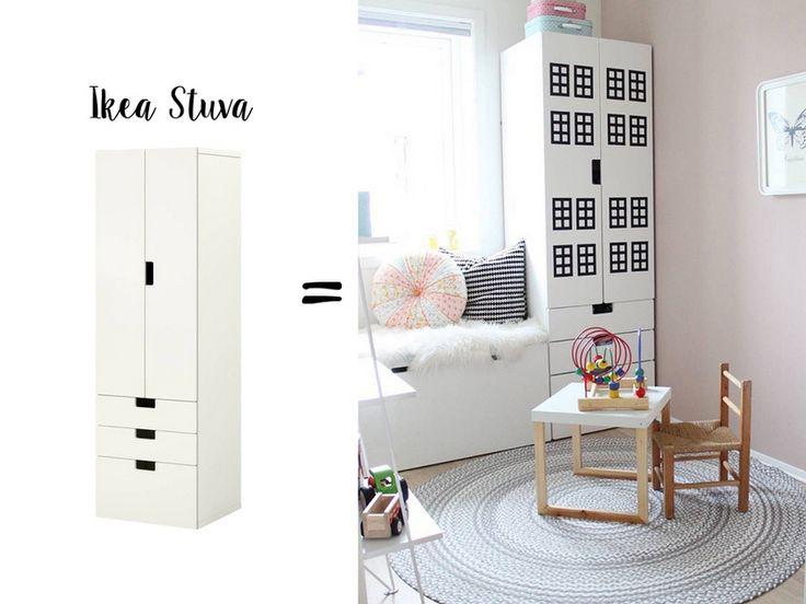 20 besten ikea hack flisat bilder auf pinterest kinderzimmer kleine kinder und einrichtung. Black Bedroom Furniture Sets. Home Design Ideas