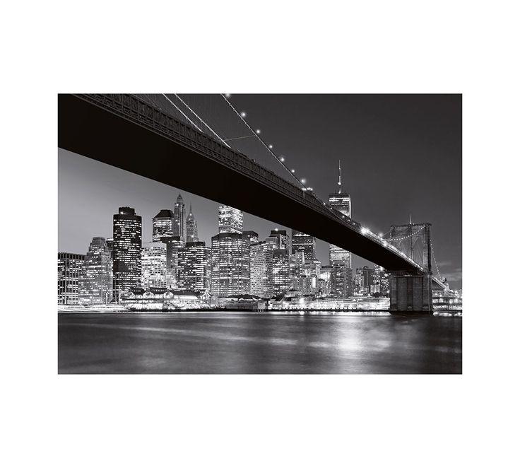 Brooklyn Bridge poszter, fotótapéta W+G 140 /366 x 254/ - Egész fal méretű poszterek