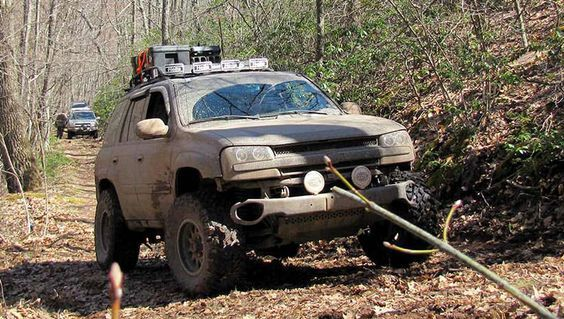 Oh hell yeah! MikeKey's - AdventureRoadTrips - 2003 Chevy Trailblazer LTZ - Expedition Portal