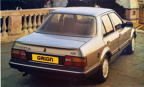 Ford Orion 1.6 Guia '88