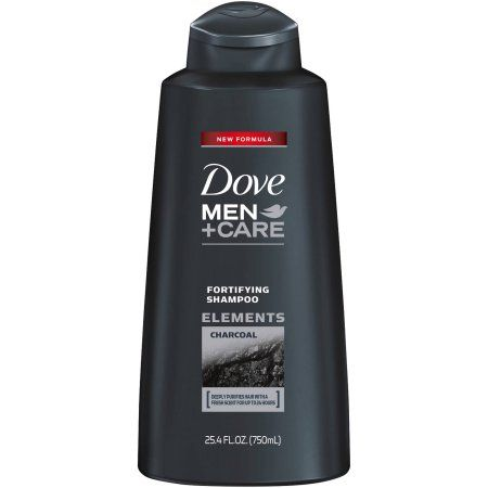 Dove Men+Care Fortifying Shampoo with Charcoal, 25.4 oz