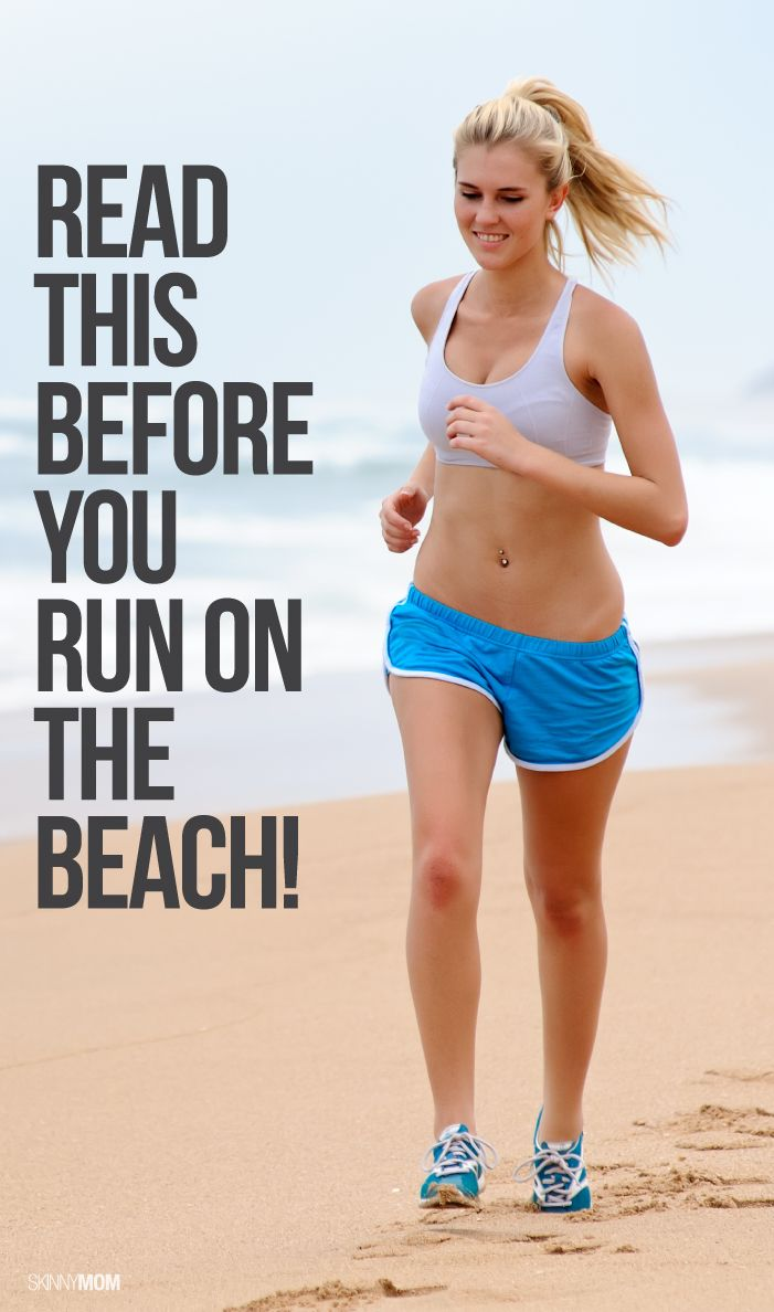 The pros and cons of beach running.