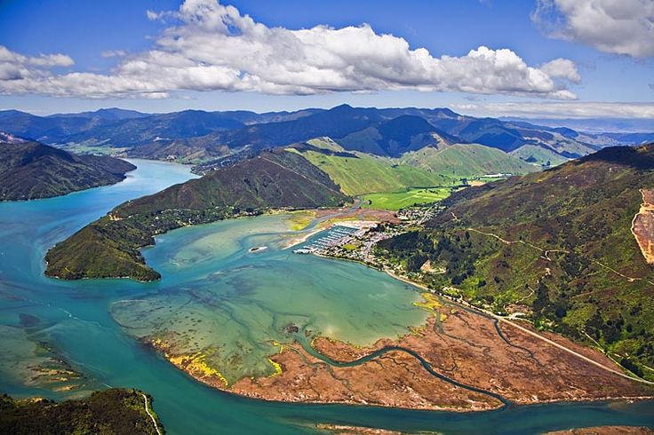 Havelock, start of the Queen Charlotte Drive,  see more at New Zealand Journeys app for iPad www.gopix.co.nz