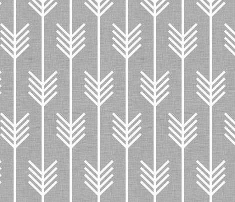 Arrows light grey fabric by Holli Zollinger (this would be awesome in a voile)