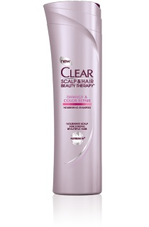Clear Scalp & Hair Therapy Damage and Color Repair Shampoo