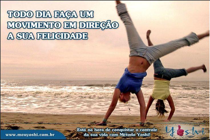 Aprenda um pouco mais a cada dia e coloque em prática esse aprendizado em direção ao seu sonho.  www.meuyoshi.com.br
