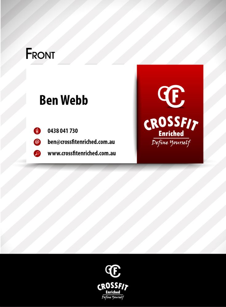 Bussines and Logo design for Crossfit!