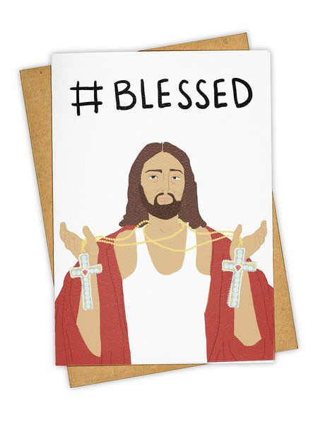 Blessed Holiday Card