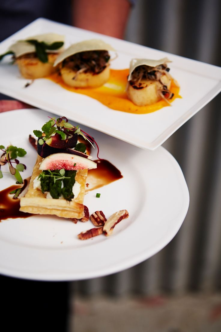 Delicious entrees.  Photo Credit: Rahel Weiss